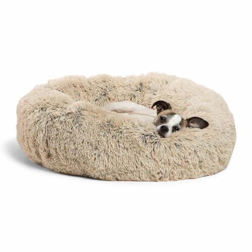 Best Friends by Sheri Luxury Shag Cuddler Donut Fuax Fur