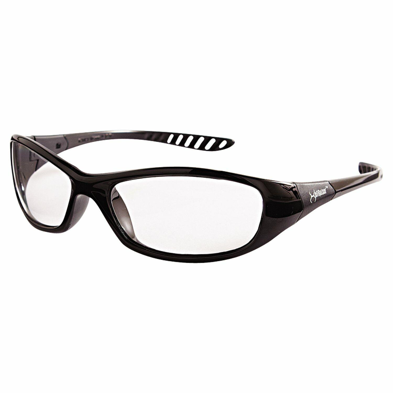 Kleenguard  V40 HellRaiser 20539 Scratch-Resistant Safety Glasses Clear Lens Business & Industrial