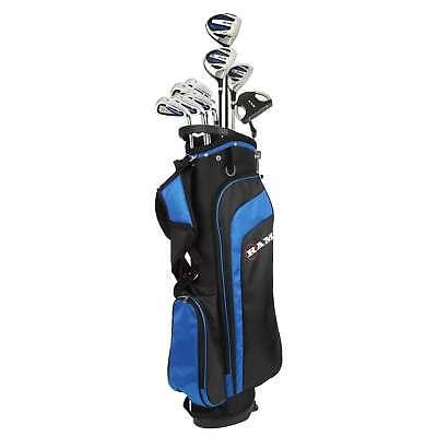 """Ram Golf EZ3 Mens -1"""" Shorter Golf Clubs Set w/ Stand Bag- G"""