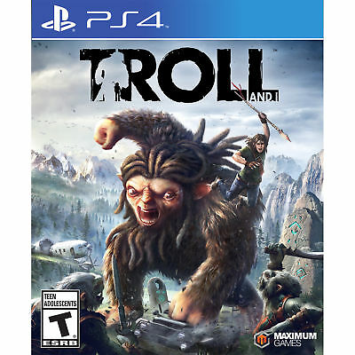 Troll and I (Sony PlayStation 4, 2017) Brand New Factory Sealed