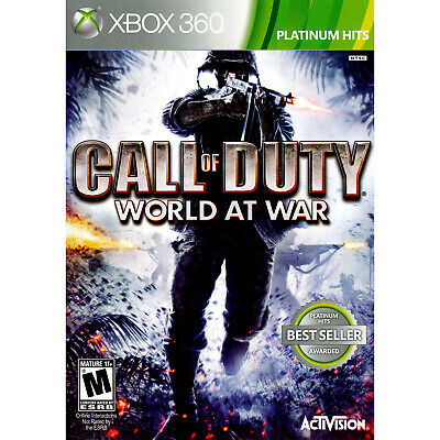 Call of Duty: World at War Xbox 360 [Factory (War Xbox)