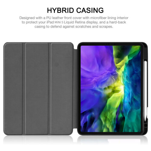 For Apple IPad Pro 12.9 4th Generation 2020 Smart Leather Folding Case Cover - $20.88