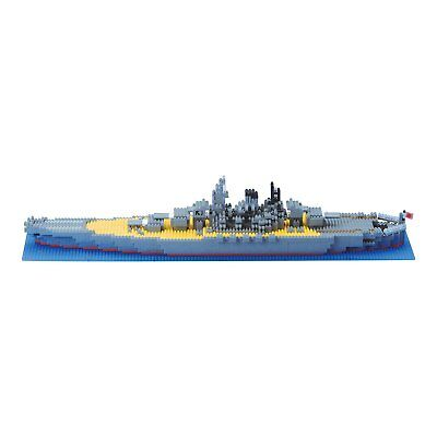 Nano-block battleship Yamato from Japan