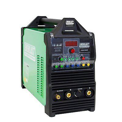 Powertig 200dv Dual Voltage 200amp Acdc Tig Stick Pulse Welder By Everlast 250a