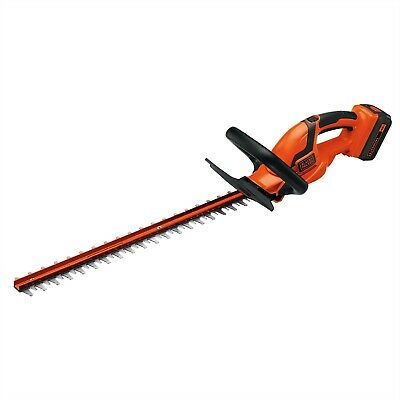 "BLACK+DECKER LHT2436 40V MAX* Lithium-Ion 24"" Cordless Hedge"
