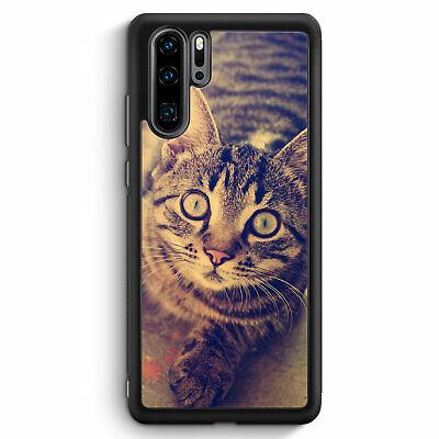 to Huawei P30 Pro Silikon Hülle Motiv Design Tiere Lustig... (Lustige Tier P)
