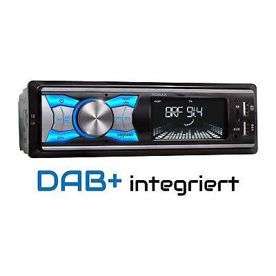 DAB+ AUTORADIO RDS AM/FM BLUETOOTH FREISPRECHEINRICHTUNG USB SD AUX-IN MP3 1DIN (Radio Usb Mp3)