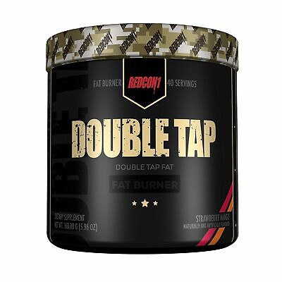 double tap powder 40 serving fat burner