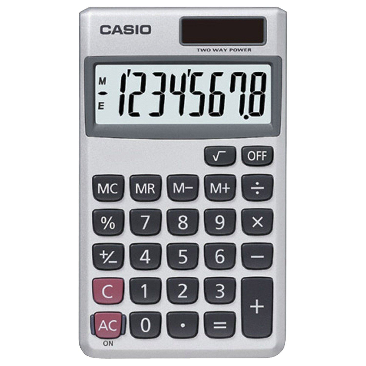 Casio Wallet Style Pocket Calculator, SL-300SV