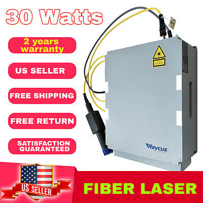 Usa Stock Raycus Rfl-p30qa31152 Fiber Laser 30 Watts 1064 Nm Laser Source