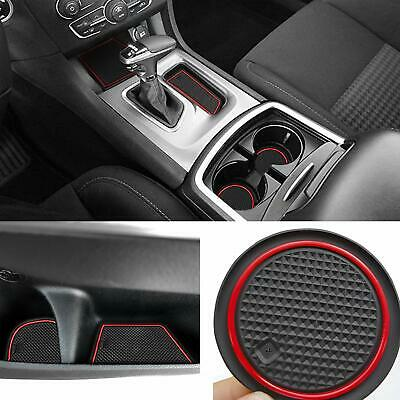 For Dodge Charger 2015-2020 Liner Accessories Cup, Console, Door Pocket Inserts