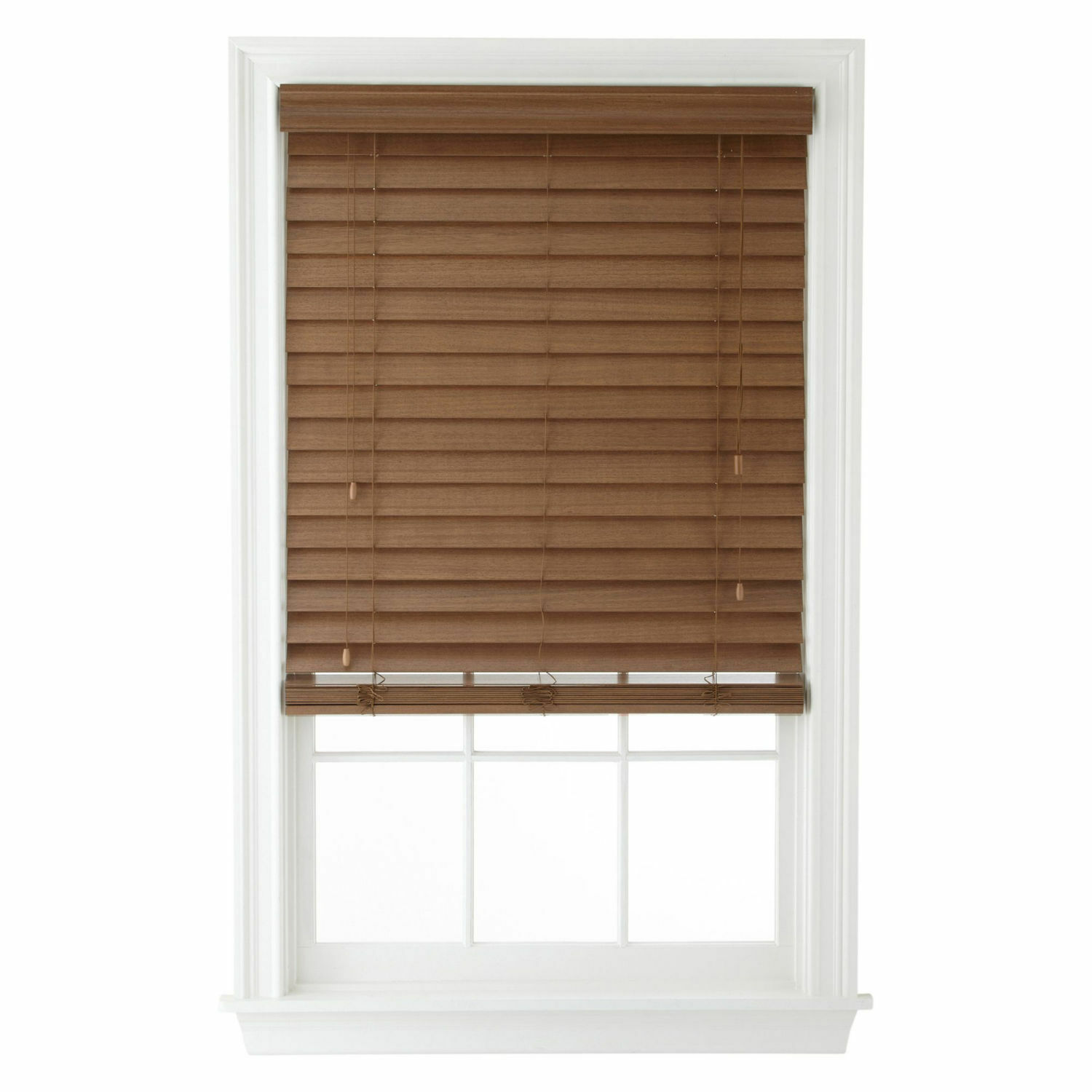 Shutter Look Real Wood Blinds - 4 Colors - Free Shipping