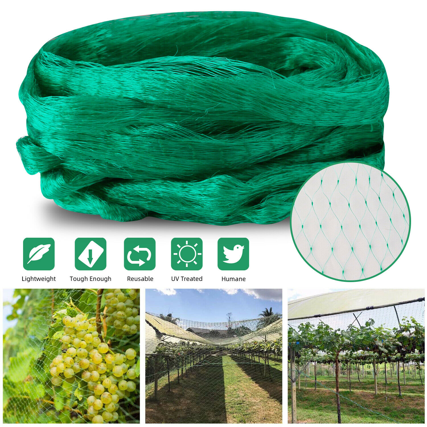 Mosquito Garden Bug Insect Netting Insect Barrier Bird Net Plant Protect Mesh Home & Garden