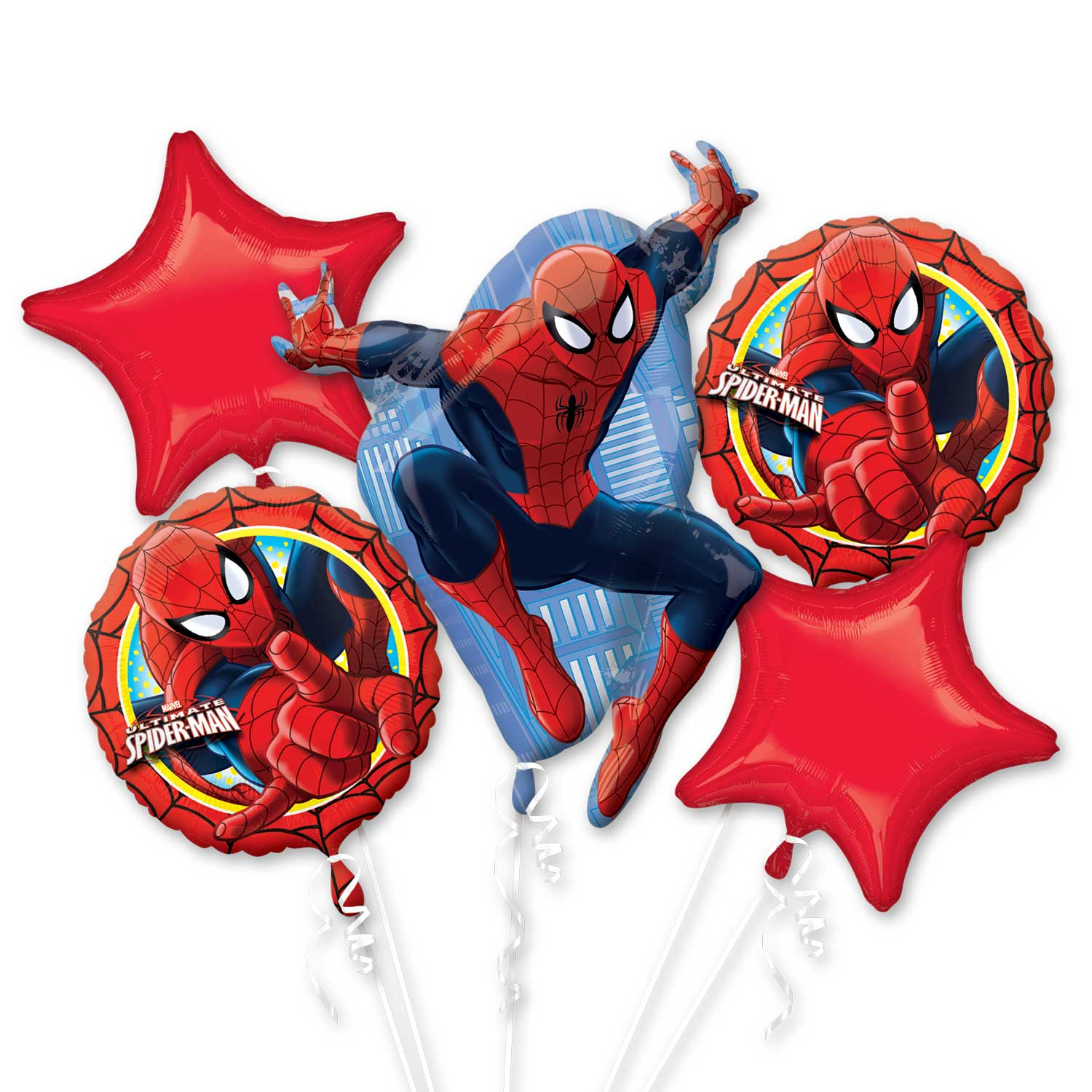 Marvels Spider Man Ultimate Birthday Balloons