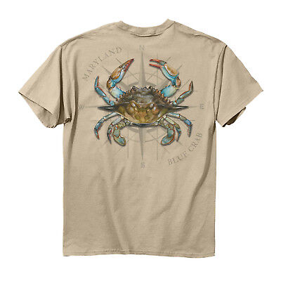Maryland Blue Crab T-Shirt - NEW