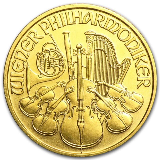 1997 Austria 1/4 oz Gold Philharmonic BU - SKU #82626