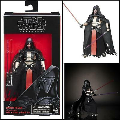 Star Wars Black Series Hasbro 6 inch Darth Revan Action Figure #34 In Stock!