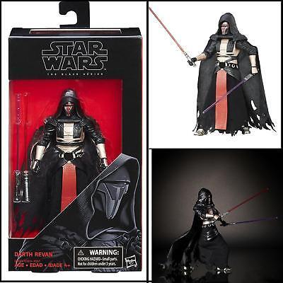 Star Wars Black Series Hasbro 6 Inch Darth Revan Action Figure  34 In Stock