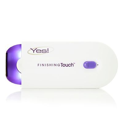 Yes Finishing Touch Rechargeable Hair Removal Shaver For Face   Body White