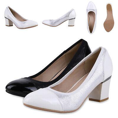 Klassische Damen Pumps Elegante Abendschuhe 892519 Schuhe