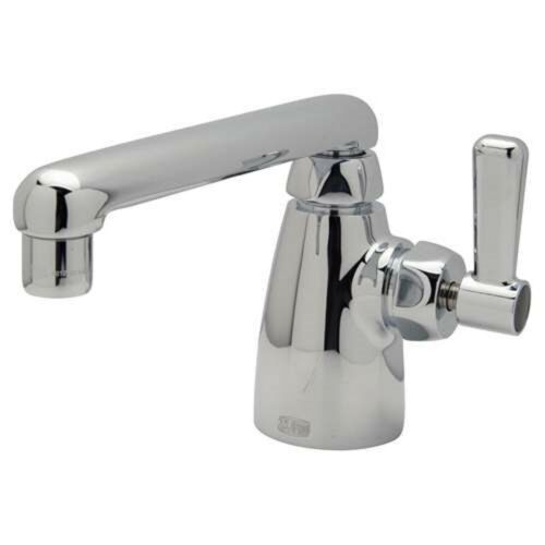 NEW ZURN Z825F1 SINGLE LEVER HANDLE 1 HOLE COMMERCIAL FAUCET CHROME  COMPARE !!