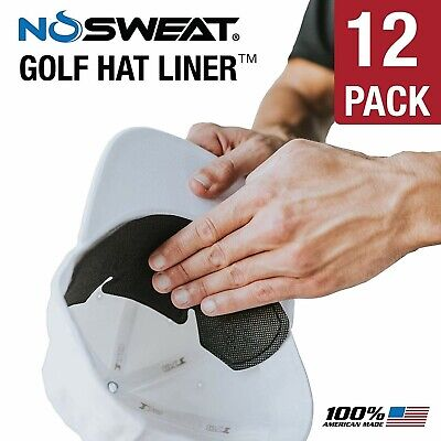 No Sweat Hat Liner & Cap Protection (12 pack)