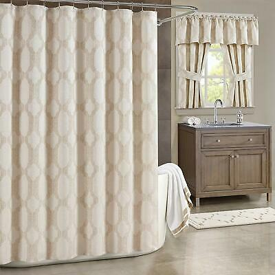 J. Queen New York Soho 70-Inch x 72-Inch Shower Curtain in Champagne