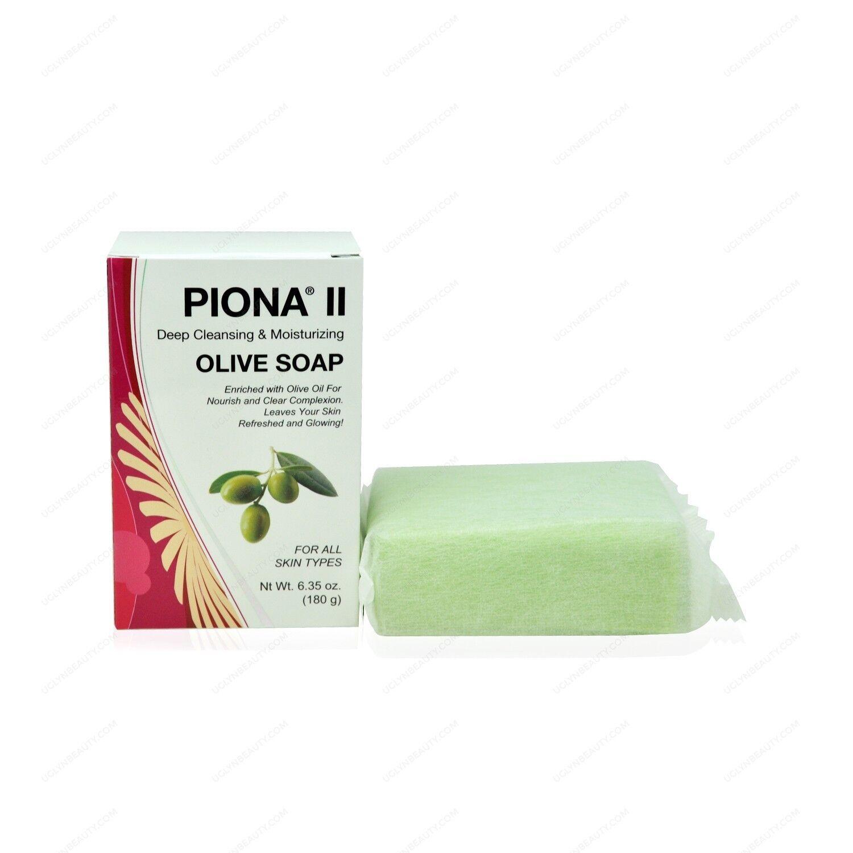 Piona II Deep Cleansing & Moisturizing Olive Soap 7oz Health & Beauty