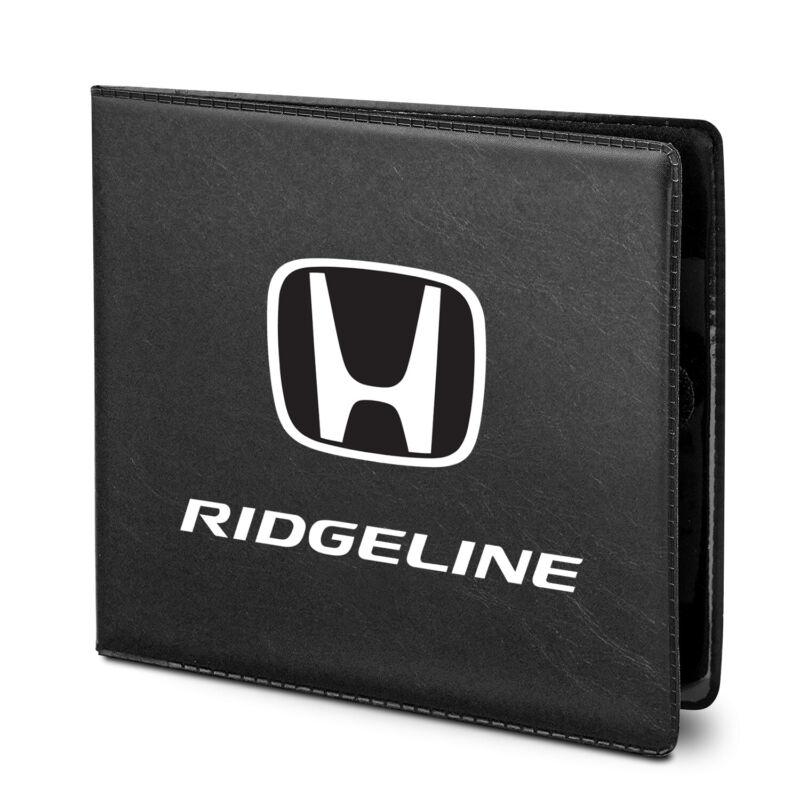 Honda Ridgeline Car Auto Insurance Registration Black PVC Document Holder Wallet