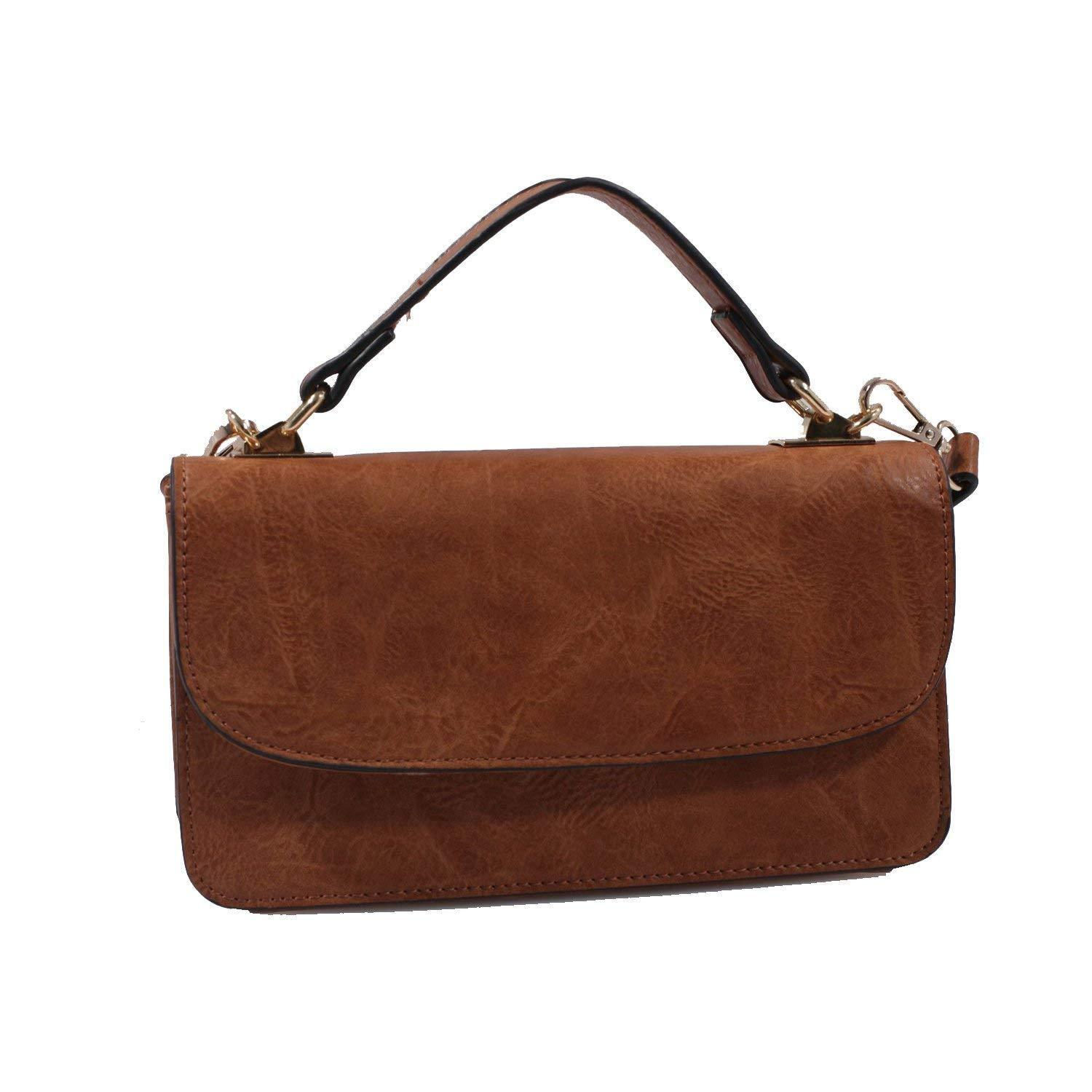 Isabelle 2 for 1 Casual Faux Suede Crossbody Bag