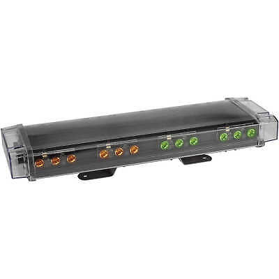 North American Signal 24 Permanent Mount Low-profile Led Light Bar Ambergreen