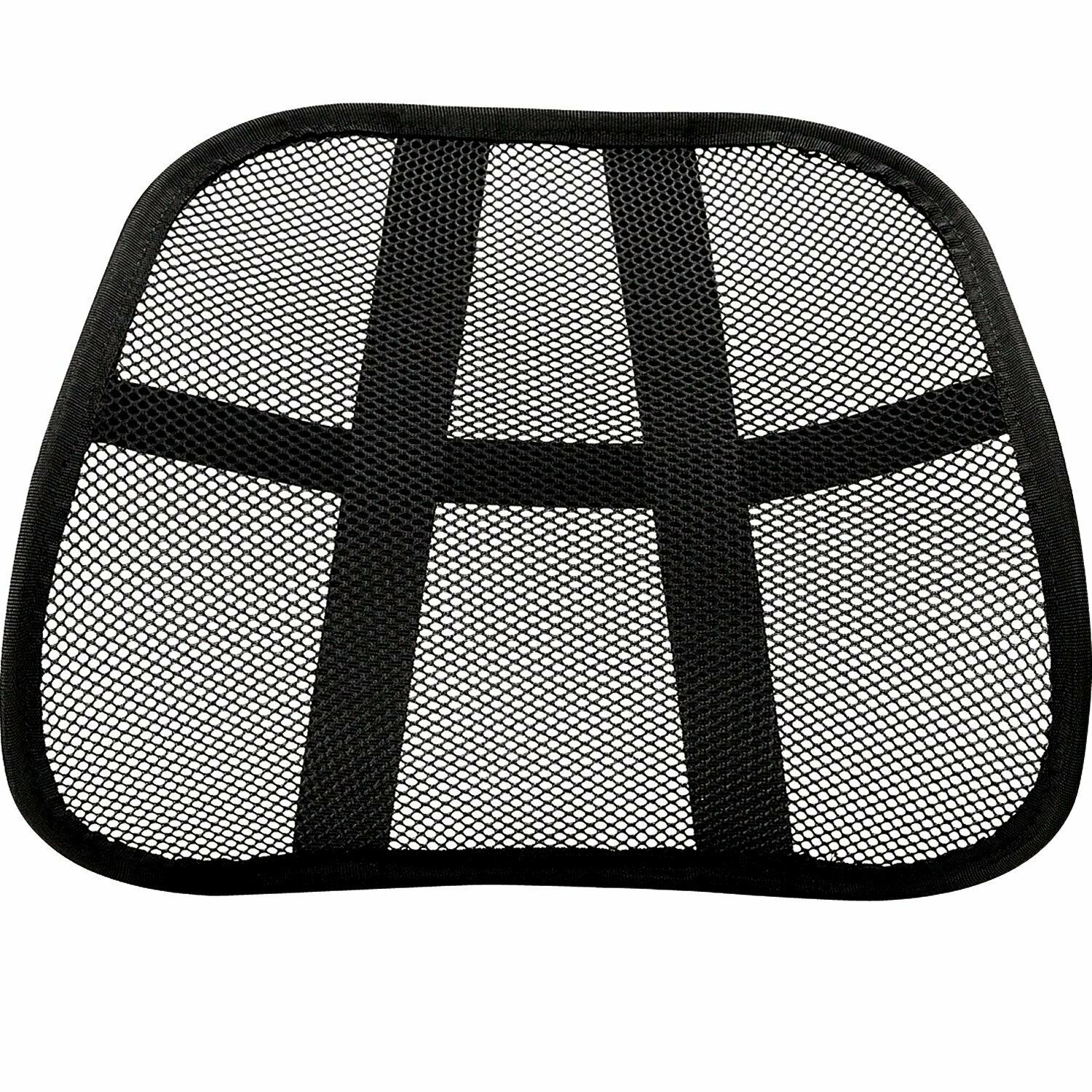 Mesh Back Lumbar Support Portable For Your Car Seat Chair Of