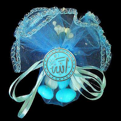 10X Gastgeschenke BABY Geburt Bebek Sekeri Mevlüt Mevlüd Ayet Allah Muhammed