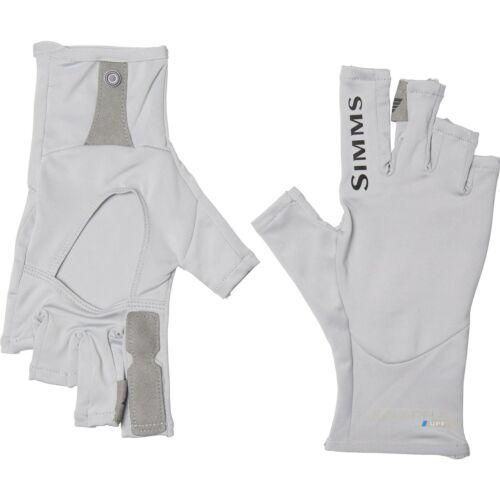 Simms Fishing Solarflex Fingerless Sun Gloves Choose Color UPF 50+ S, M, L or XL