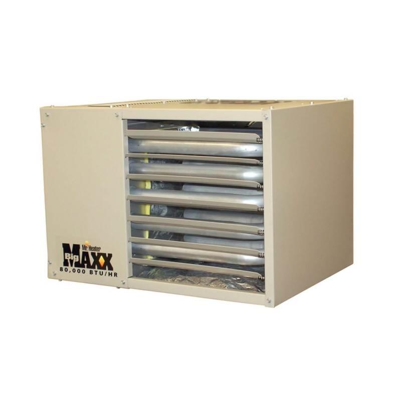 Mr. Heater 80,000 BTU Big Maxx Natural Gas Garage Workshop Convection Heater
