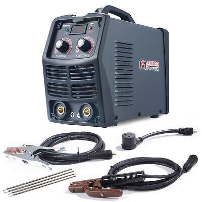Mma-160 160 Amp Stick Arc Inverter Dc Welder 120v 240v Dual Voltage Welding