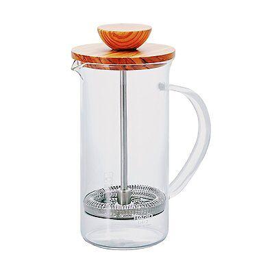 Hario Tea Press Wood For 2 Cups THW-2-OV 300ml Tea Maker Oli