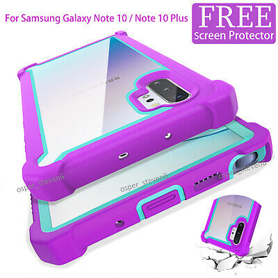 For Samsung Galaxy Note 10 Plus Shockproof Hybrid Rugged Hea