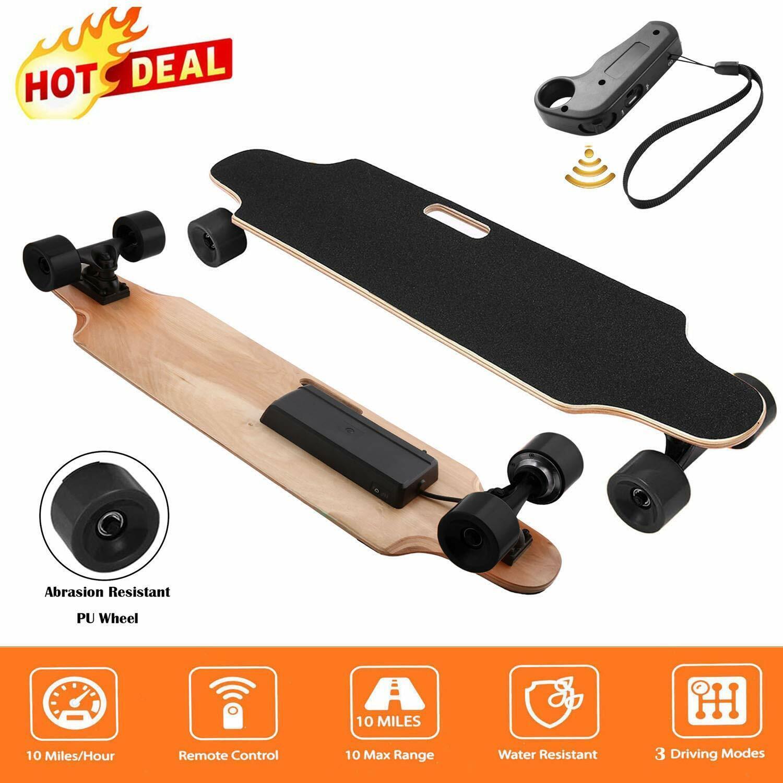Electric Skateboard Longboard 20KM/H Motors Long Board W/Rem