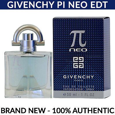 Givenchy Pi Neo Eau de Toilette EDT Cologne for Men Spray 1.0 oz 30ml NEW (Givenchy Pi Eau De Toilette Spray 30ml)