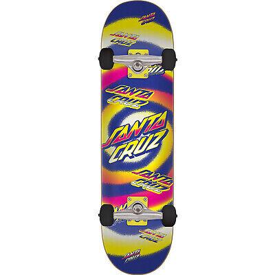 """Santa Cruz Skateboards Hypno Dot Mini Complete Skateboard - 7.25"""" x 29.9"""""""