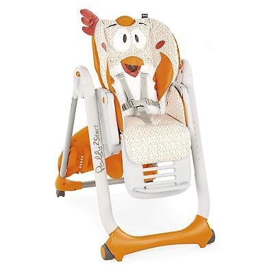 Chicco Polly 2 Start Highchair With 4 Wheels Fancy Chicken For 0 Months to 15KG