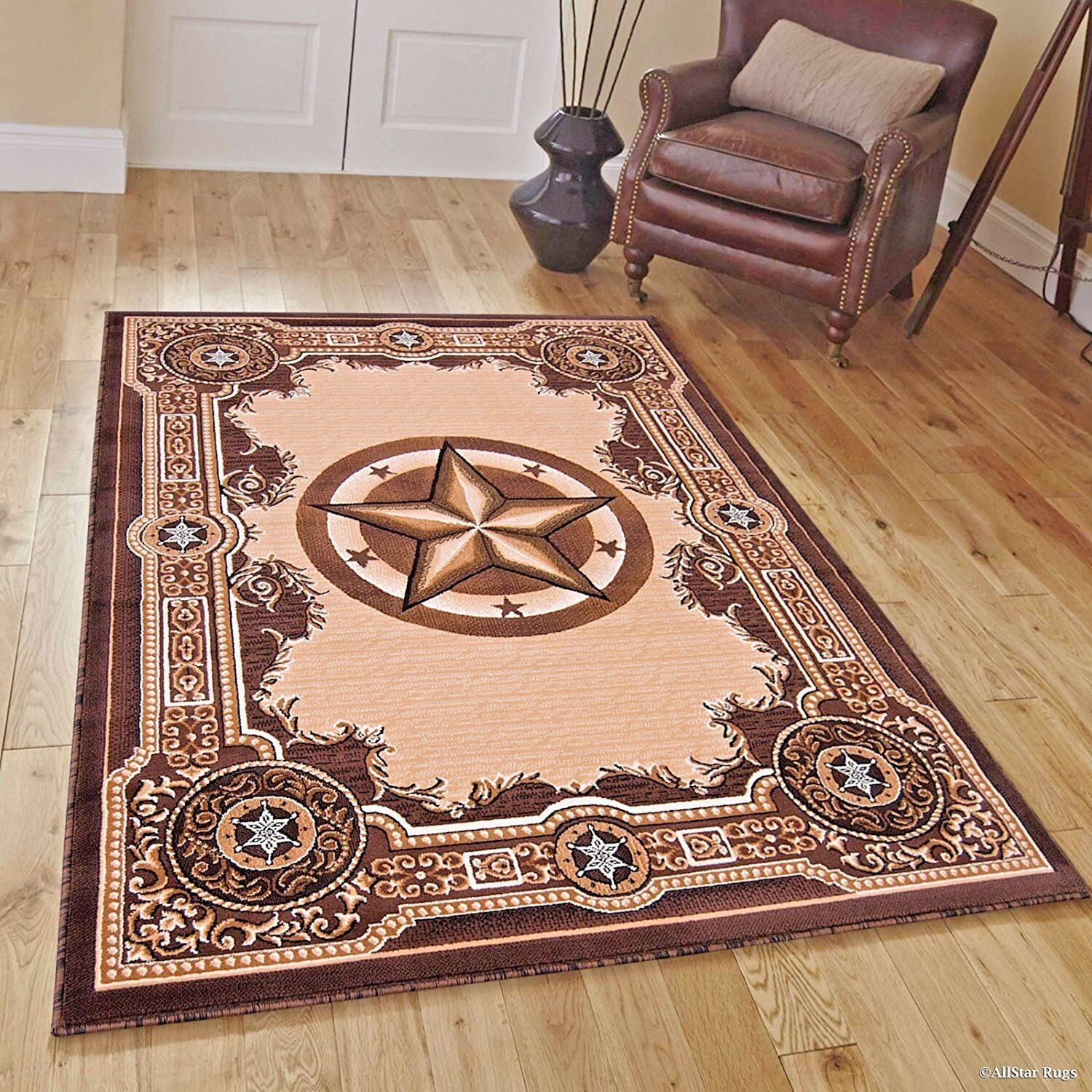 Rugs Area Rugs 8x10 Area Rug Carpet Large Rugs 5x7 Texas Star
