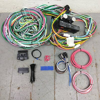 - 1980 - 1996 Ford Truck Pickup F - 150 Wire Harness Upgrade Kit fits painless KIC