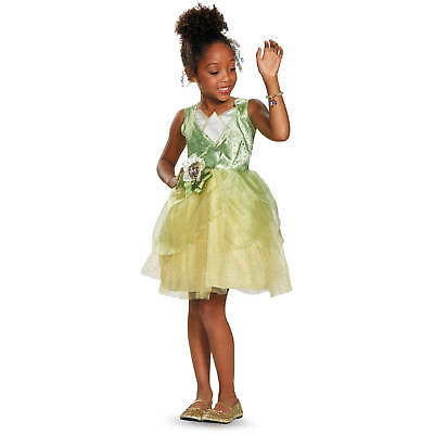 Classic Tinkerbell Costume (Disney Tinker Bell Classic Child Halloween Costume, Dress-Up, Play,)