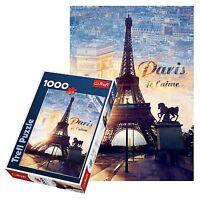 Trefl 1000 Pieza Adulto Torre Eiffel Paris Grande Amanecer Vista Suelo -  - ebay.es