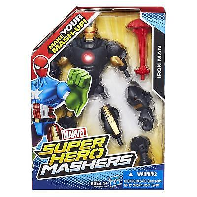 Marvel Super Hero Mashers Iron Man Tony Stark Black Outfit Action Figure