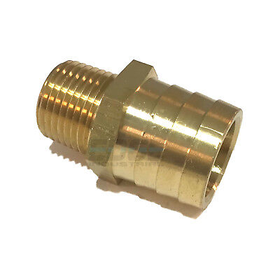 1 Hose Barb X 12 Male Npt Brass Pipe Fitting Npt Thread Gas Fuel Water Air