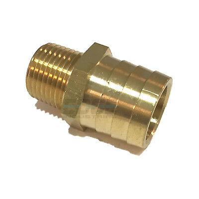 1 Hose Barb X 12 Male Npt Brass Pipe Fitting Npt Thread Gas Fuel Water Air