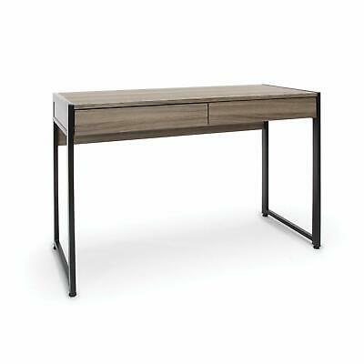 Ofm Drafting Drawing Craft Table Art Room Desk 2-drawer Office Desk Driftwood